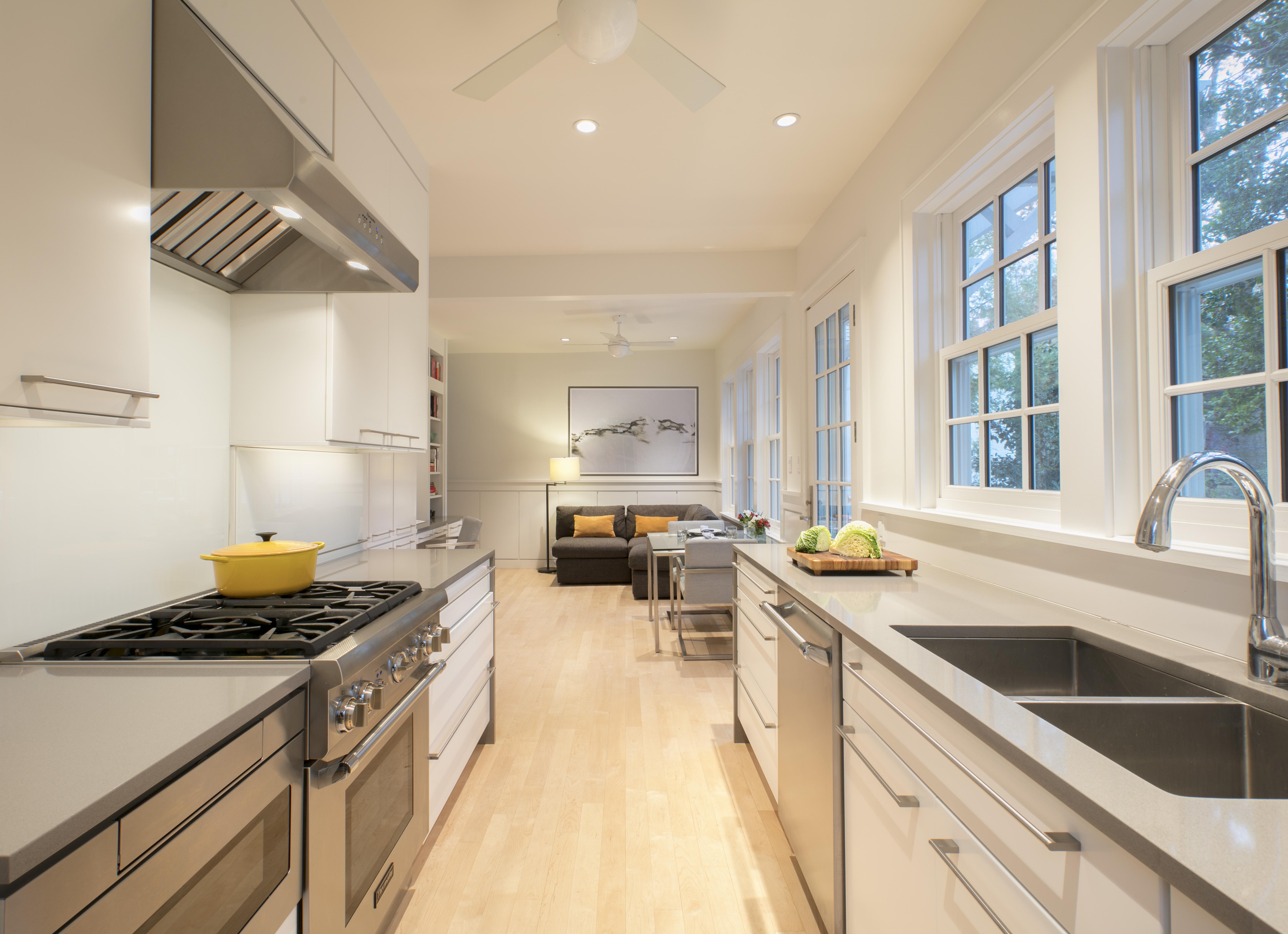 Galley Kitchen Gets An Update Hillrag